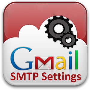 gmail smtp server instellen